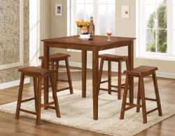 5 Piece Counter Height Dining Set - Kitchen Dining Sets - Dining Sets with Stools - LaPorta Furniture - Discount Online Furniture Store